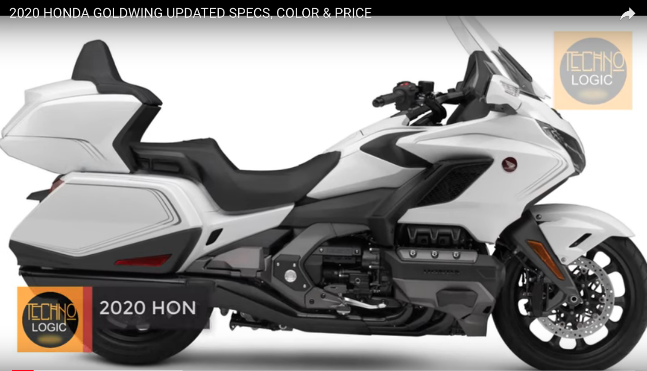 2020 HONDA GOLDWING UPDATED SPECS, COLOR & PRICE