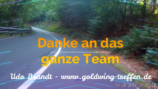 21. Treffen Goldwing Stammtisch Sachsen 2018